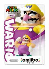 NEW Nintendo 3DS Amiibo Super Mario series Wario Japan Import Official F/S