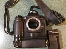 Nikon D100 6.1MP Digital SLR Camera Body w/ Strap and Battery Grip