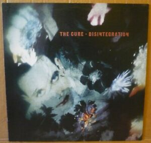 CURE Disintegration LP FICTION 1989 EU orig+inner FIXH 14 839 353-1 ROBERT SMITH