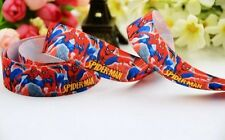 2 metros 9mm Spiderman Rojo Cinta del Grosgrain
