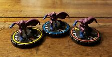 DC Heroclix Legacy Spoiler #001 #002 #003 Complete Set Pre-owned No Card