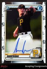 New Listing2020 Bowman Chrome Prospect Autographs #Cpaash Aaron Shortridge Rc Rookie Auto