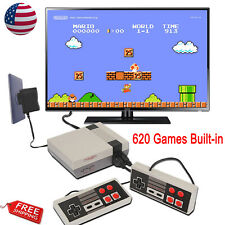 Mini TV Game Console Classic 620 Games Built-in W/2 Controller For Kid Gift