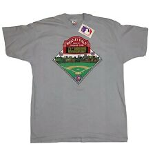 Vintage 80s Chicago Cubs Wrigley Field T Shirt 75th Anniversary Size XL NWT