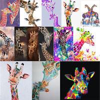 5D DIY Giraffe Series Diamond Painting Embroidery Mosaic Cross Stitch Kits Decor