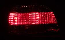SCHWARZES KLARGLAS RÜCKLEUCHTEN HECKLEUCHTEN SET BMW E38 7er SMOKE RED BLACK NEU