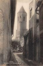 Lauban / Lubań Schlesien Kirchgasse Glockenturm Fotokarte 1931