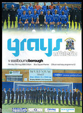 2008/09 Grays Athletic V Eastbourne Borough 25-08-2008 Blue Square Premier