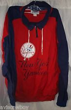 Hummer Sportswear Red Blue MLB New York Yankees Windbreaker Jacket Men's XL
