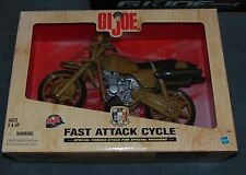 "GI Joe 12"" Figure Motorcycle Vintage StylE 1/6 Fast Attack Cycle Army Vehicle NE"