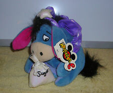 "DISNEY MOUSEKETOYS WINNIE POOH EEYORE SUGAR PLUM FAIRY 8"" PLUSH BEAN BAG"