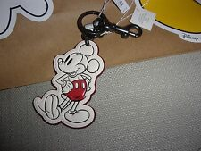 Coach Black/Chalk Mickey Mouse  Keychain- NWT #F58994  Limited Edition