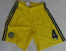 CHELSEA 2014/15 AWAY SHORTS NO.4 BY ADIDAS  SIZE 7-8 YEARS BRAND NEW