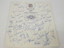 Rory Sabatini Hal Sutton Retief Goosen Signed Buick Classic PGA 45+ Autos COA