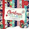 HELZ CUPPLEDITCH CHRISTMAS VILLAGE  - SAMPLE PACKS 12 X  8 x 8 PAPERS -
