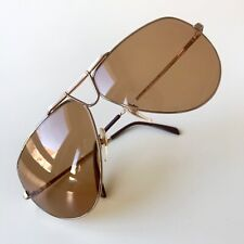 vintage RODENSTOCK Montreal sunglasses gold pearl West Germany large NOS
