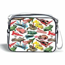 Official Thunderbirds Sports Shoulder Bag - Cool & Stylish White Retro Design