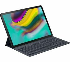 Samsung Galaxy Tab S5e Official Book Cover Keyboard Case UK QWERTY Layout - Grey