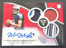 #1/1 Marcus Mariota 2015 Topps Triple Threads Silver Rainbow Auto RC