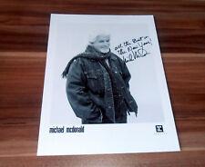 Michael McDonald *Sweet Freedom*, original sign.Foto in 20x25 cm (8x10 Inch)
