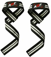 AQF Weight Lifting Training Gym Straps Hand Bar Wrist Support Gloves Wrap