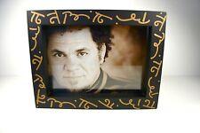 BRITTO WOODEN BOX FRAME: ROMERO BRITTO PHOTO