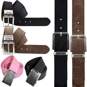 Levis Belts Full Leather Belts and Canvas Belts Mens Levis Genuine Leather Belts