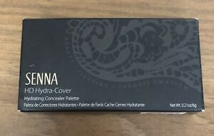 Senna Cosmetics HD Hydra-Cover Hydrating Concealer Palette, Shade 03