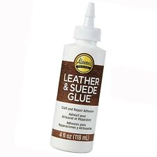 Craft Leather Adhesive Aleene's Leather & Suede Glue For Shoes Bags Jackets