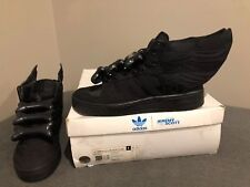 premium selection d5df6 f5687 Adidas Jeremy Scott Asap Rocky Black Flag Wings 2.0, Size 10, Very Rare!