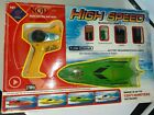 NQD RC Mosquito Craft Boat 1:38 scale 757T-4011 Lime Green AS-IS Original box