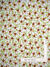Jungle Animal Monkey Swing Vine Cotton Fabric Studio E Jungle Camp By The Yard