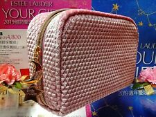 """Estee Lauder 2019 Best New Gift✰☾Pink Flannel Cosmetic Bag☽✰ ~ """" FREE POST!! """""""