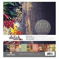 Paper house Savor the moment Delish paper pad 24 sheets