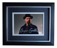 Bryan Cranston SIGNED 10x8 FRAMED Photo Autograph Display Breaking Bad TV COA