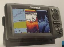 Lowrance Hook 7 Fishfinder Base Mid/High/Downscan Combo, Chartplotter