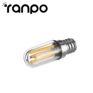 Mini E14 E12 1W 2W 4W à Variation LED Réfrigérateur Congélateur Filament Ampoule