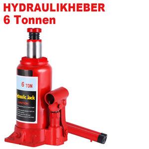 Wagenheber 6T hydraulisch Stempelheber Stempelwagenheber Hydraulikheber 6000 kg