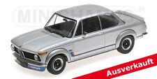 Modell 1:18 BMW 2002 Turbo 1973 silber Minichamps 155026201