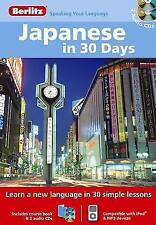 Berlitz Language: Japanese In 30 Days (Berlitz in 30 Days), Berlitz,