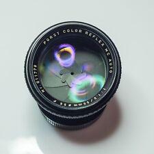 Porst Color Reflex MC 55 mm f 1,2 Montura PK en perfecto estado.