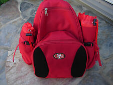 San Francisco Forty Niners Picnic Backpack Nfl Insulated Cooler 4 Place Setting