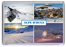 Alpe d'huez, Ski resort France Fridge Magnet