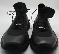 Fendi Men's Vocab High-top black sneakers sz 9