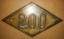 Door apartment number address home sign rhombus style soviet custom 200 only