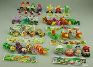 Lot of 30 Kinder Surprise K99 Era inc 3 Complete Sets K99-N57 to N60 Papers D281