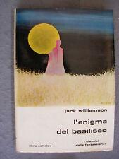 SLAN LIBRA # 13 - JACK WILLIAMSON - L'ENIGMA DEL BASILISCO - OTTIMO - LIB34