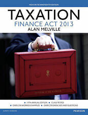 Taxation: Uk Finance Act 2013 by Melville, Alan