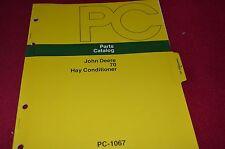 John Deere 70 Hay Conditioner Dealer's Parts Book Manual PANC
