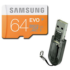 SAMSUNG 64GB Class10 UHS-1 Micro SD Micro SDXC MicroSDXC Card 48MB/s* EVO +R2